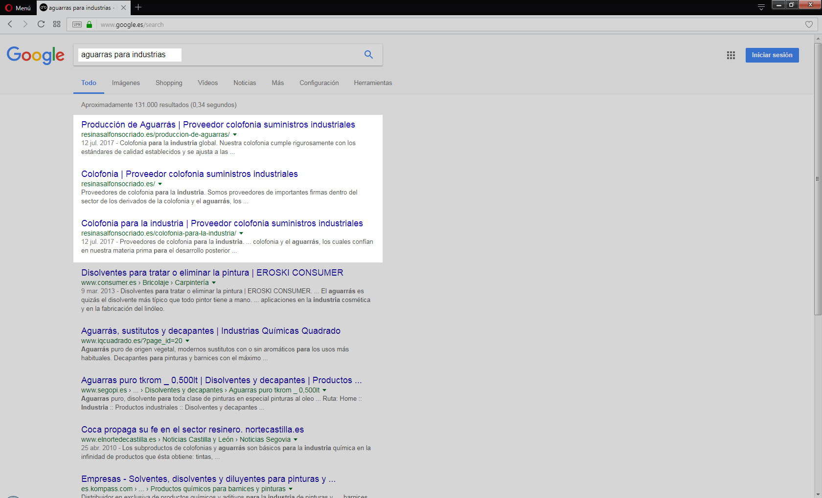 google-seo-pant-aguarras