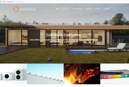 Diseño Web Industrial : hormigón , resinas naturales